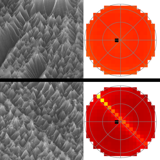 Plasma nanotexturing of silicon: new publication in collaboration with NIST