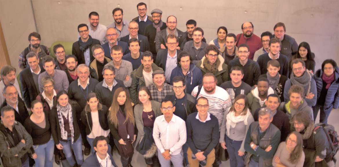 IPVF welcomes 40 new researchers from Total, Air Liquide and Ecole polytechnique